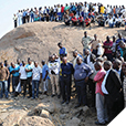 Zuma visit Lonmin Mine in Marikana